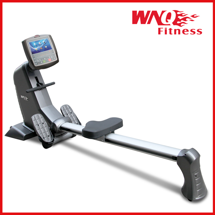 Rowing machine/Seated row exercise machine/gym equipment