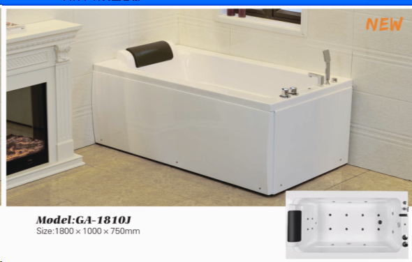 jacuzziers massage spa bath tub