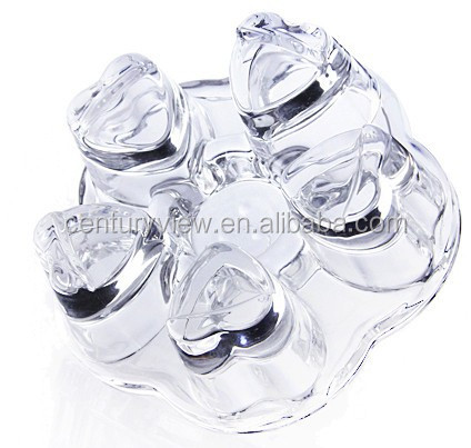Hot sale home decoration chinese glass tea set cheap