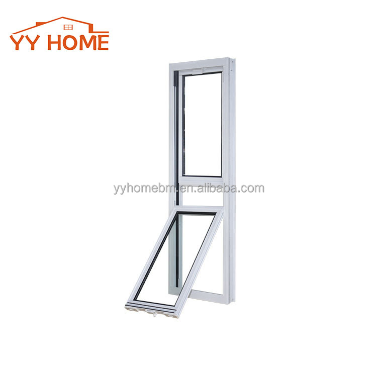 YY Home Vertical Sliding Aluminum Window With AS2047 Certification