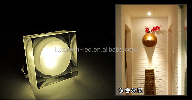 High quality 5x8W RGBW 4 IN 1 crystal light, 40w led ceiling lighting