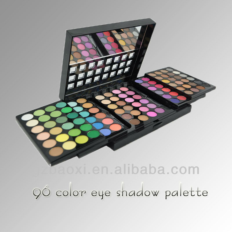 Wholesale!Pro 96 makeup multi colored eyes eyeshadow palette