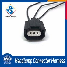 Sgs Certification led 3 pin male female auto electrical wiring harness connector