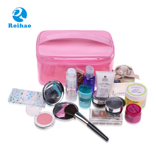Made In China Hot Sale Customized PVC Clear Portable Travel Makeup Case