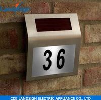 Solar Light Manufacturers solar house number sign light type solar energy led lamp series XLTD-910 solar house number