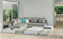 MA-GA01 Aluminium White Modern Outdoor Lounge Sofa Set