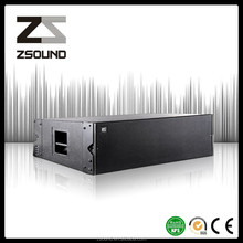 double 12inch line array stage special effects equipments