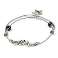 Knotted Bracelet Wristband Rope Hand-woven Star And Ball cheap wholesale men stainless steel bracelet SP-SL-71880