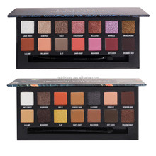 make up eye shadow palette 14 matte and glitter eyeshadow with fashion style modern renaissance