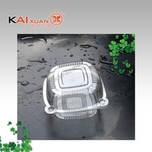 High quality clear plastic round dome clamshell cake packaging