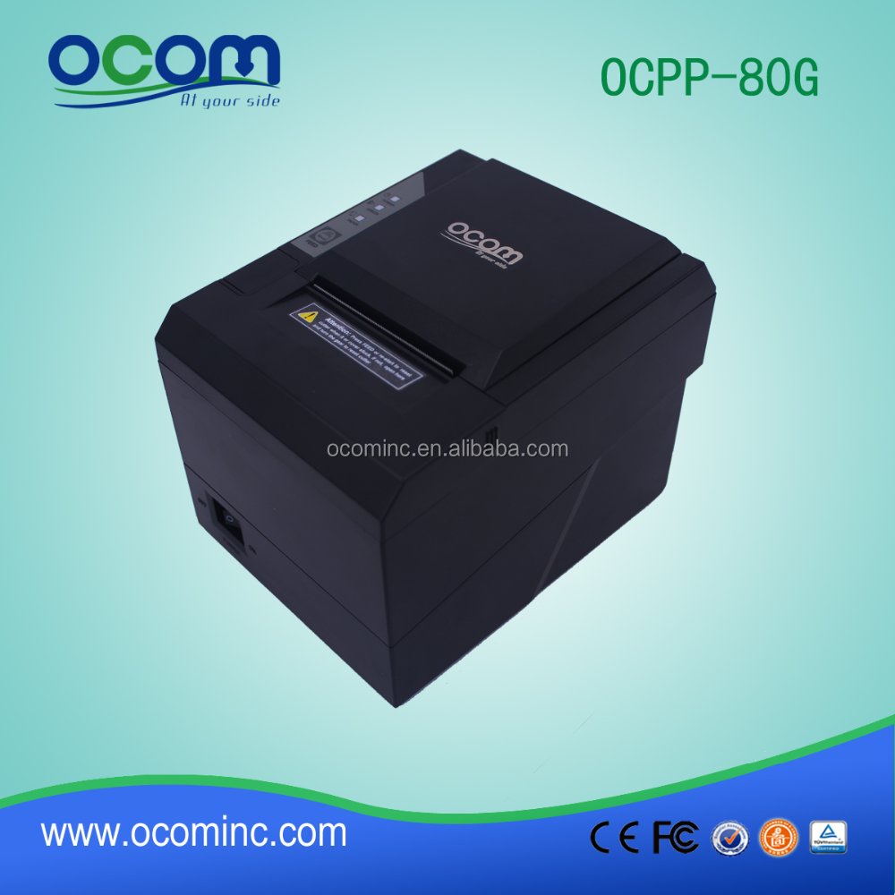 OCPP-80G 80mm auto cutter telephone android billing machine for restaurant hotels