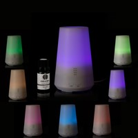 cool mist ultrasonic drop shape humidifier no noise aroma diffuser