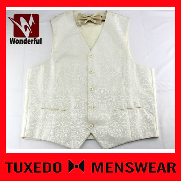 Top Quality Modern Mens Formal Dress Suit Waistcoat With Pocket