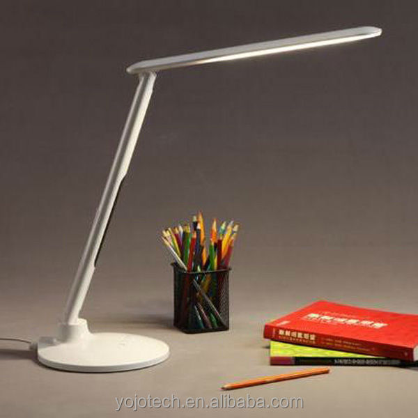 LED Table Lamp with Time Display & USB Chargeable Port