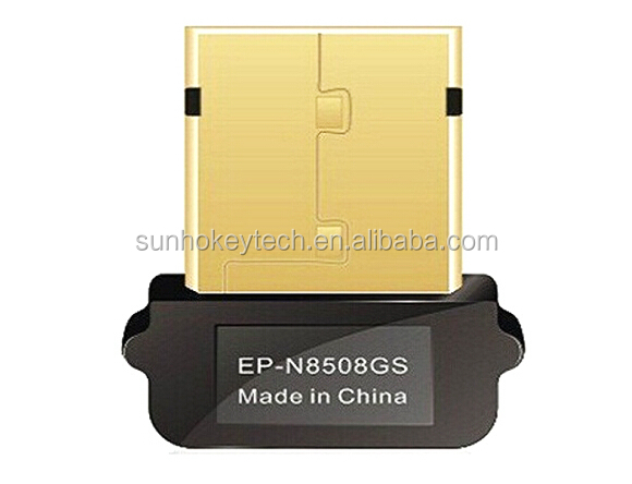 Raspberry PI mini wireless USB network card EDUP EP-N8508GS adapter 150Mbps free drivers gold Edition