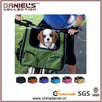 pet carrier box on bike travel out fashion pattern
