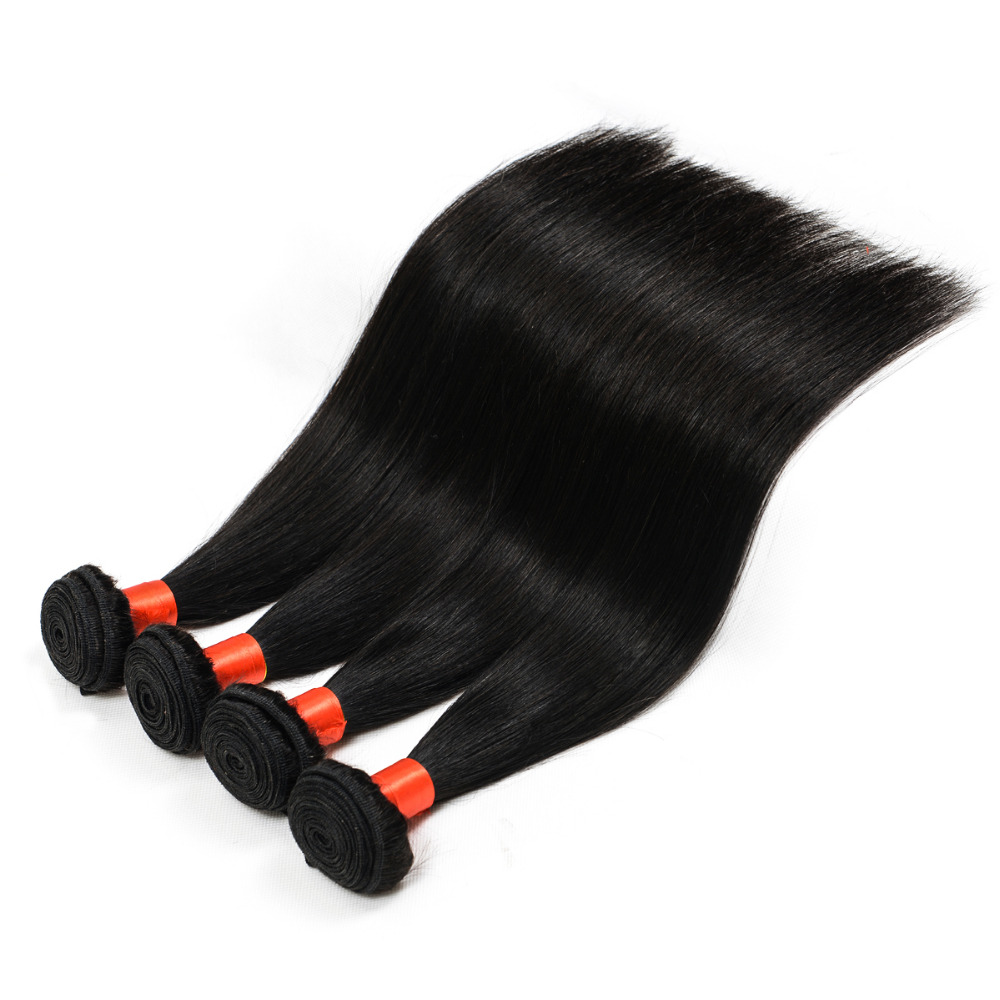 8-30 Inch Silky Straight Wave 100% Human Hair , Virgin Malaysian Hair extension Bundles
