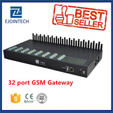 Ejoin 32 port 32/128 sim gsm/cdma/wcdma gateway compatible with fxo/fxs mini laptops