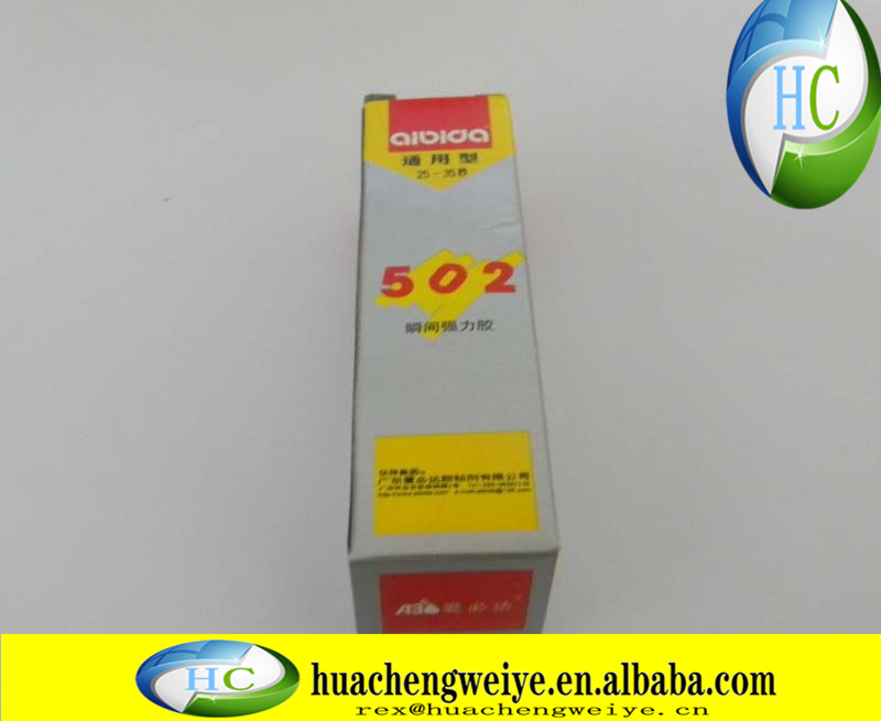 502 strong adhesive 502 quick glue instant adhesive 502 glue high strength and high viscosity