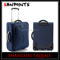 New style soft eva polyester trolley luggage travel luggage bag set for cheap price