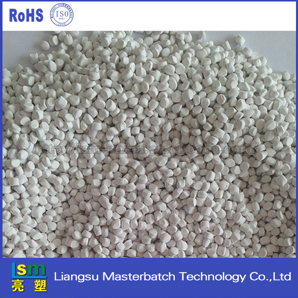2016 New products White granule used for PP polymer modified FR engineering plastic compounding