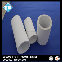 High Heat Resistance 92 96 Alumina Straight Tube/Sleeve for Coal Industry