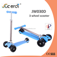 Holiday gift 3 big PU wheel foldable CE EN71 mini maxi kids kick scooter zhejiang