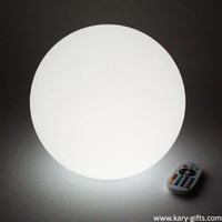 remote control/DMX Outdoor Big Plastic LED Spheres LED Ball Light
