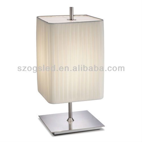 Elegant Square Shade Table Lamp
