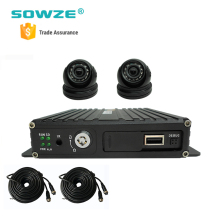 3G / 4G GPS Wi-Fi car Mobile DVR , H.264 for School Bus Monitoring System
