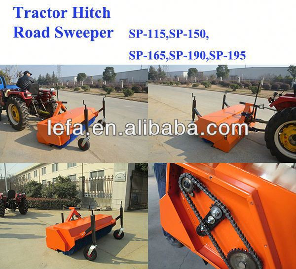 2014 New Farm Tractors compact pavement sweeper