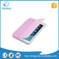 Manufacture Wholesale flip wallet universal leather tablet case for ipad mini