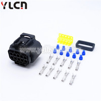 10 pin female tyco Automotive Waterproof Electrical Connectors with terminals and seals