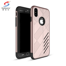 Mobile phone accessories rose gold phone case for iphone 8 shockproof slim case