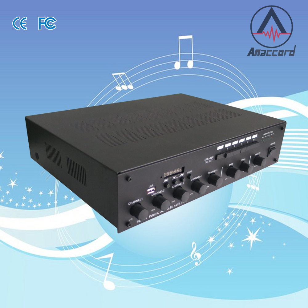 Manufacturer direct produce CE FCC certificate wholesale home audio using multi channel big power bluetooth amplifier