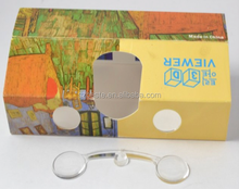 NEW! gift card stereo viewer 3d card/paper 3d glasses/paper 3d stereo viewer