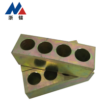Top quality anchor head and wedges for prestressed concrete