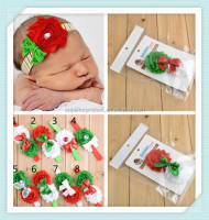 new fashion baby hair accessories fashion christmas hairband baby headband baby hair bow