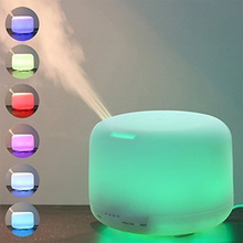 China wholesale portable 500ml holmes humidifier bacteriostat water/essential oil diffuser for health care