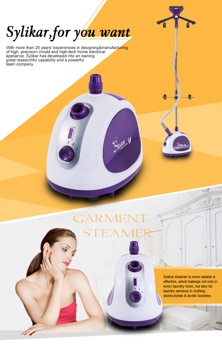 iron garment steamer reviews beautiful appearance with UL, CE, CB, CQC, RoHS