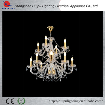 Tower-shaped hall islam Crystal Chandelier