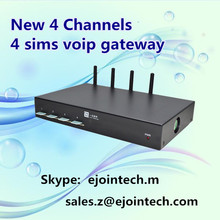 voip gsm modules equipment sip asterisk sms and voice gateway goip-4 sim card box