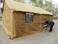10 man waterproof canvas military Tent