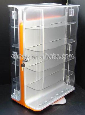 Security intelligent Alarm Merchandise Display Stand/Holder/Rack For Mobile phone Shop