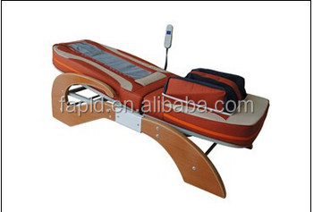 Mp3 Jade roller massage bed with arm airbag cheapest price PLD-6018Q