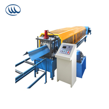 China supplier good quality Metal roof ridge cap roll forming machine ningbo taiwan hangzhou