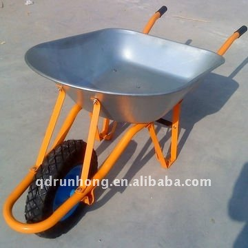 WB7208 large wheel barrow extension side