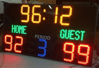 digital led scoreboard, stadium led scoreboard for basketball,football sport game