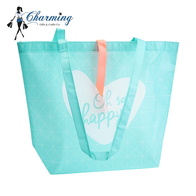 2018 Simple Fresh Style large tote bags cheap non woven tote bag