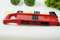 Mandoline Slicer - Vegetable Cutter Cheese Slicer Vegetable Julienne Slicer with Surgical Grade Stainless Steel Blades